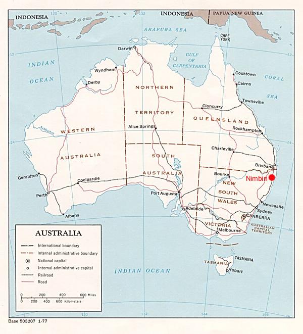 Nimbin Australia  city pictures gallery : NIMBIN AUSTRALIA MAPS